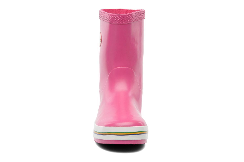 Bottes Havaianas Aqua Kids Rain Boots Rose vue portées chaussures