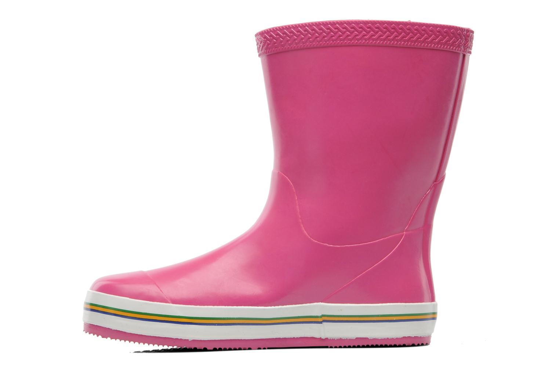 Stiefel Havaianas Aqua Kids Rain Boots rosa ansicht von vorne