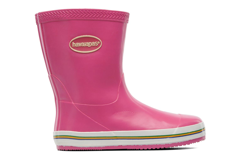Bottes Havaianas Aqua Kids Rain Boots Rose vue derrière