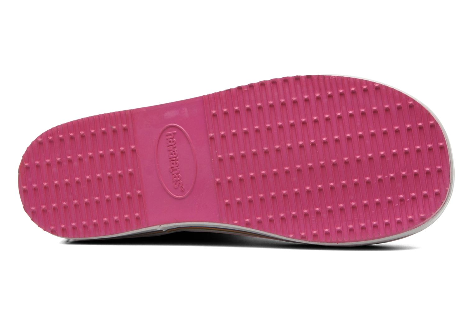 Boots & wellies Havaianas Aqua Kids Rain Boots Pink view from above