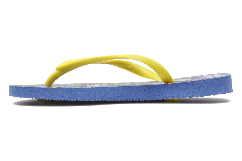 Flip flops Havaianas Kids Slim Pucca Blue front view