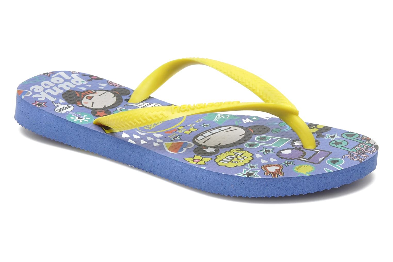 Flip flops Havaianas Kids Slim Pucca Blue detailed view/ Pair view