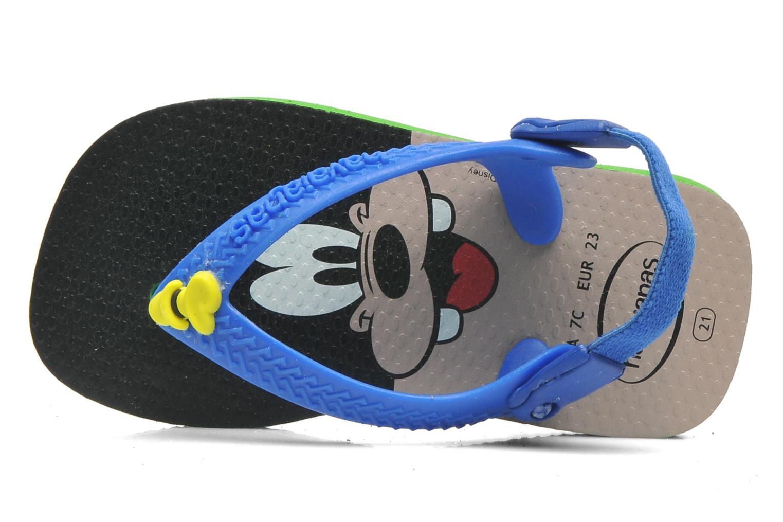 Flip flops Havaianas Baby Disney Classic Blue back view