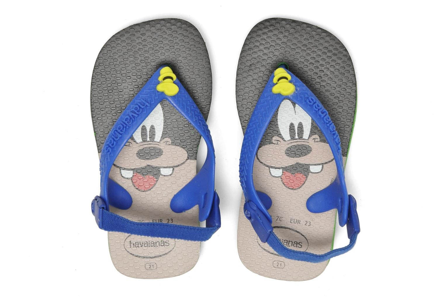 Flip flops Havaianas Baby Disney Classic Blue view from above