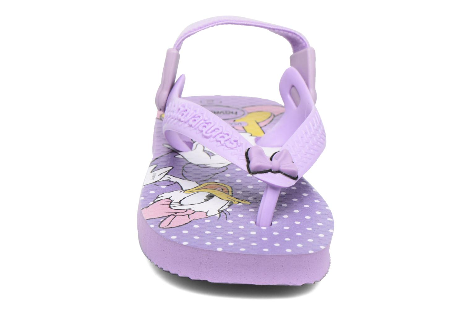 Flip flops Havaianas Baby Disney Classic Purple model view