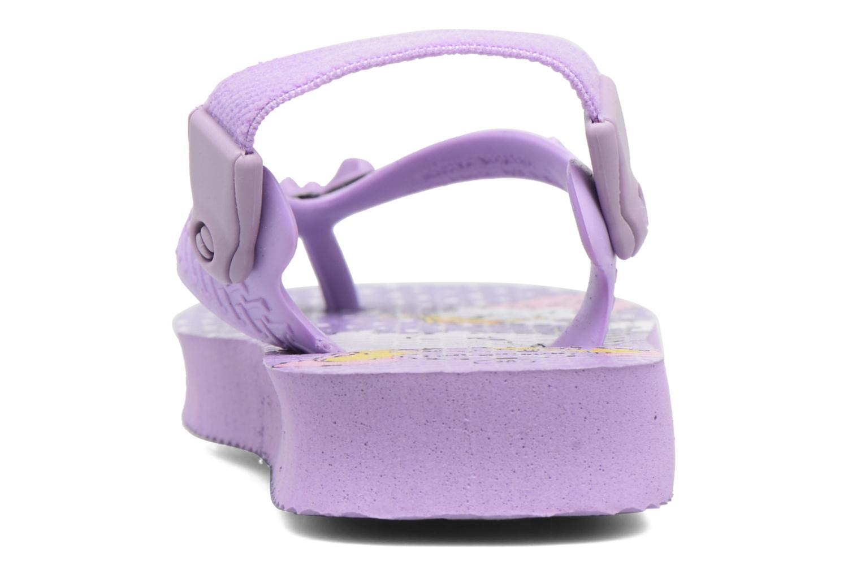 Tongs Havaianas Baby Disney Classic Violet vue droite