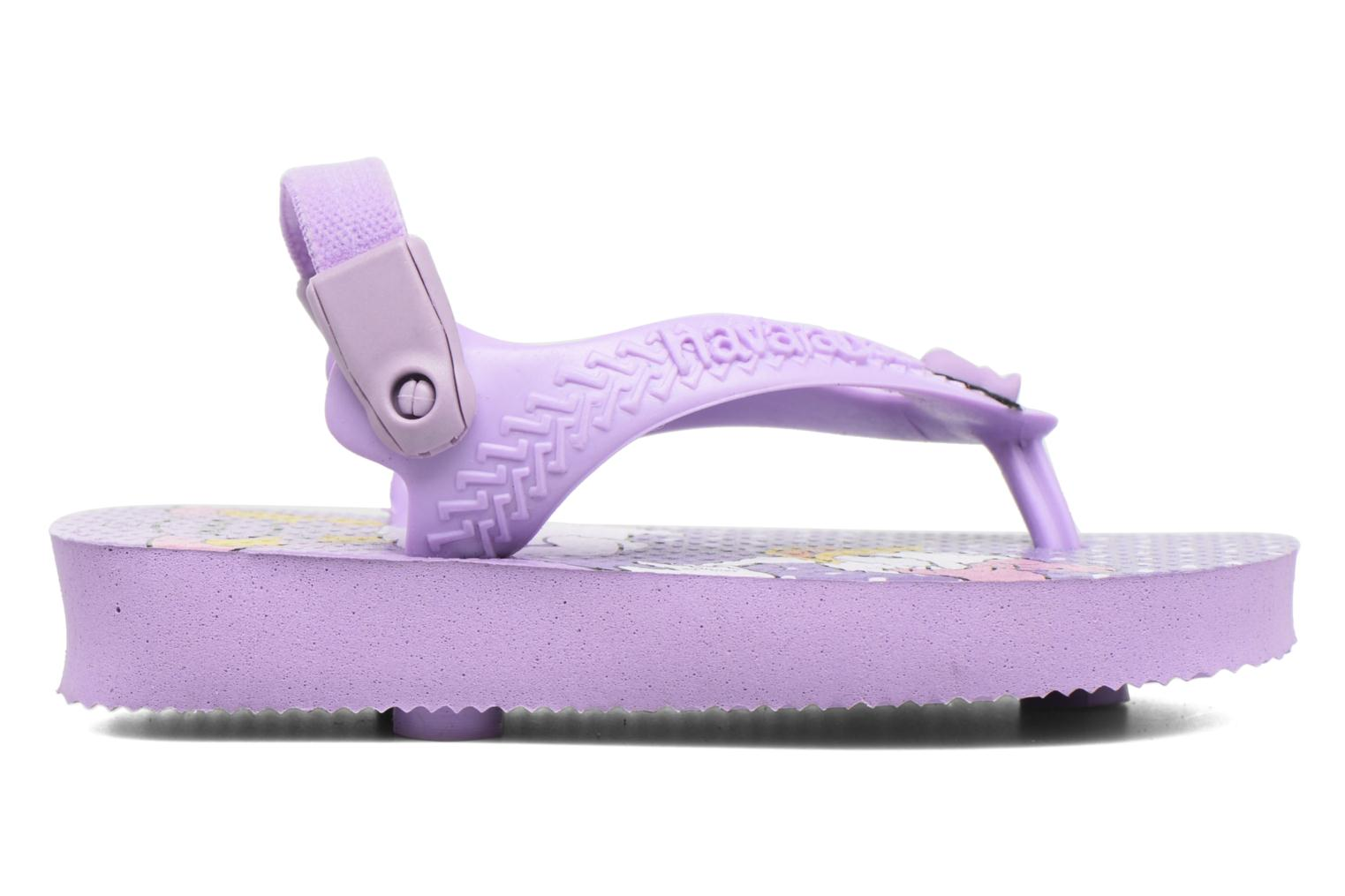 Flip flops Havaianas Baby Disney Classic Purple back view