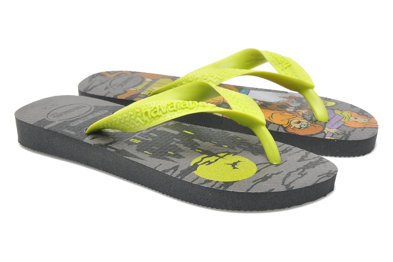 Flip flops Havaianas Kids Scoobydoo Grey 3/4 view