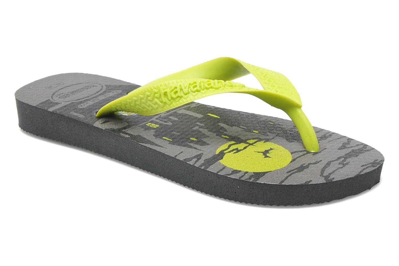 Flip flops Havaianas Kids Scoobydoo Grey detailed view/ Pair view