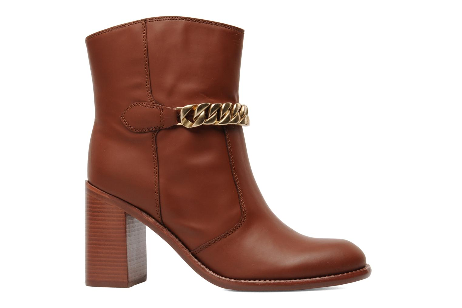 Ankle boots See by Chloé Penelope Brown back view