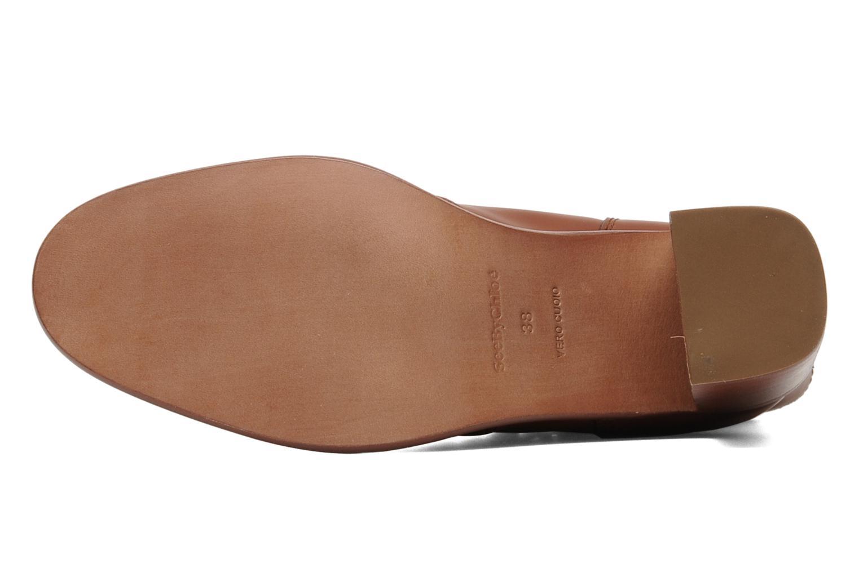 Bottines et boots See by Chloé Penelope Marron vue haut