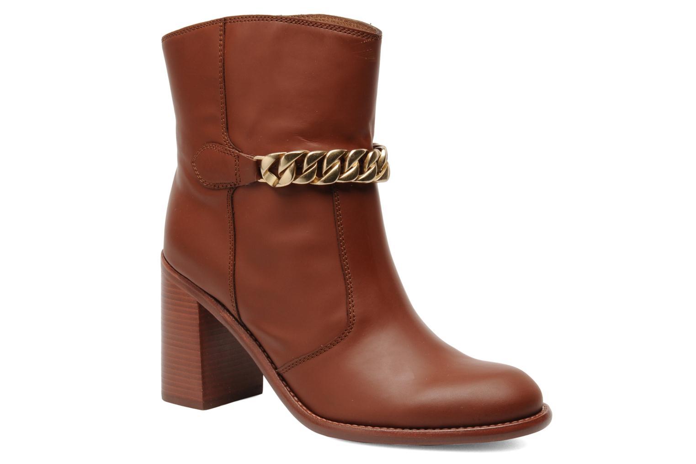 Bottines et boots See by Chloé Penelope Marron vue détail/paire
