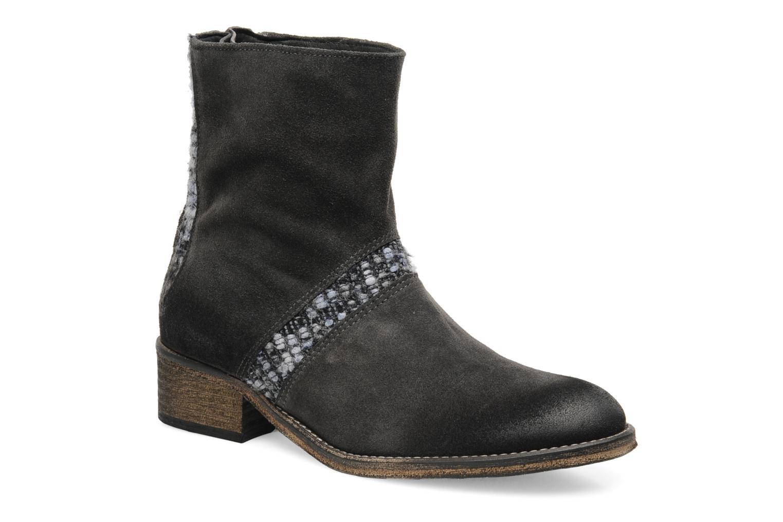 Ankelstøvler Berenice Ihope Grå detaljeret billede af skoene