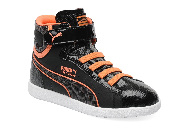 Sneaker Puma First Round Animal V Kids schwarz detaillierte ansicht/modell