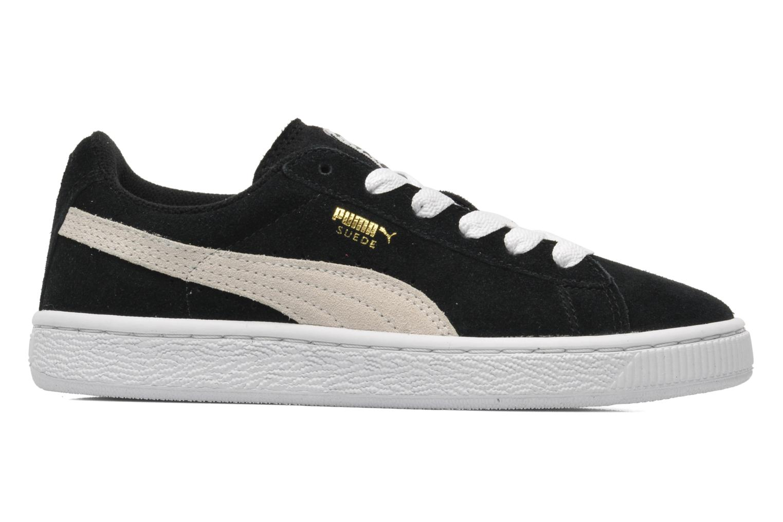 Sneaker Puma Suede Jr. schwarz ansicht von hinten
