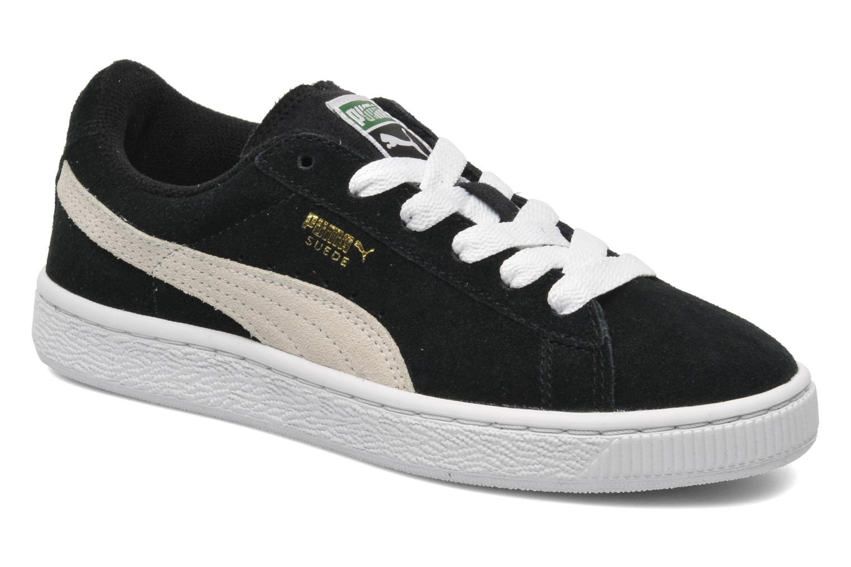 Sneaker Puma Suede Jr. schwarz detaillierte ansicht/modell