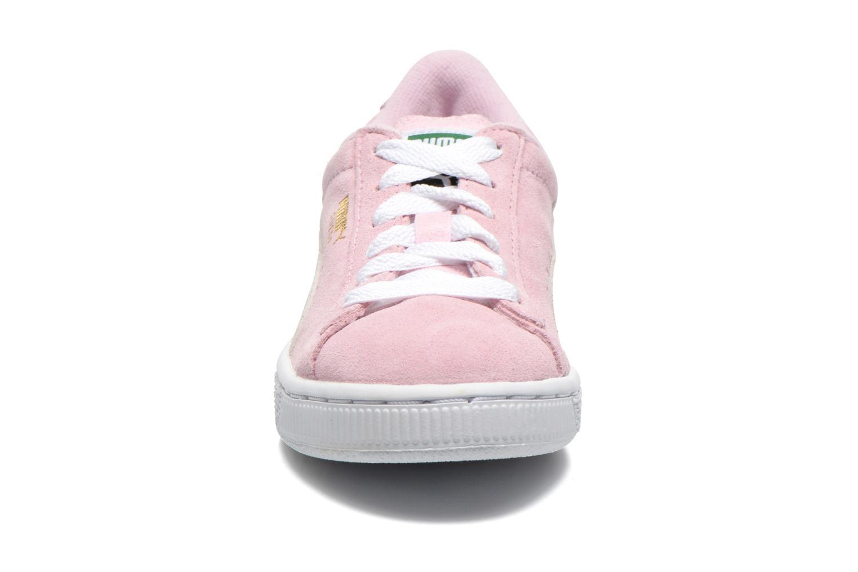 Sneakers Puma Suede Jr. Roze model