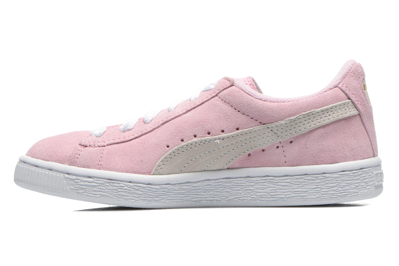 Baskets Puma Suede Jr. Rose vue face