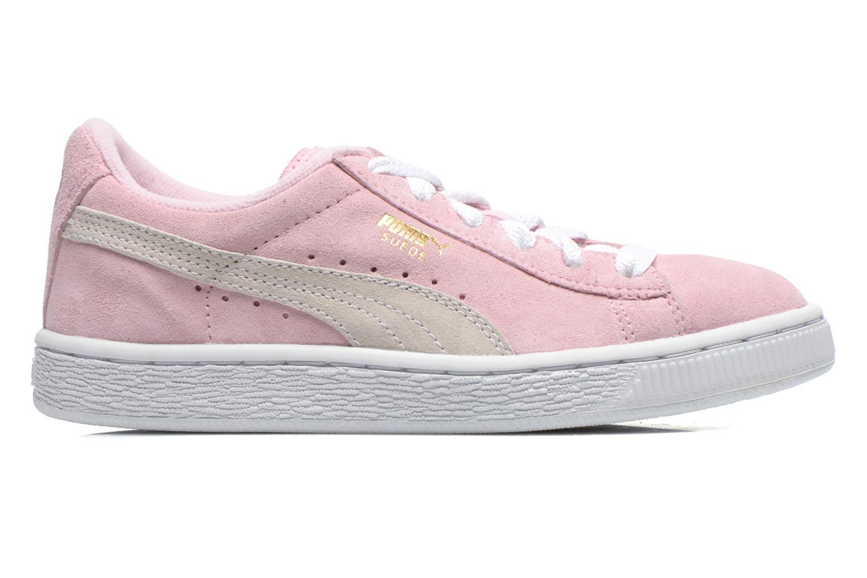 Sneakers Puma Suede Jr. Roze achterkant