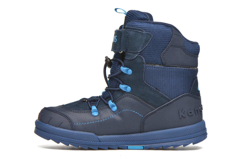 Bottines et boots Kangaroos Adrian Bleu vue face