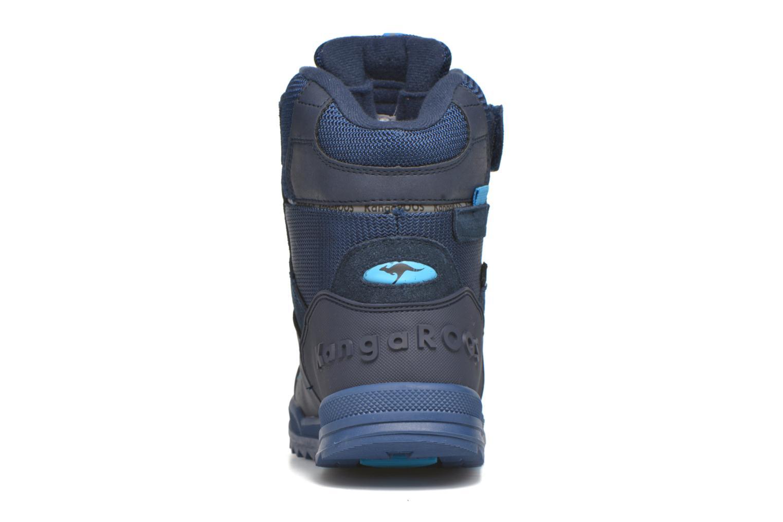 Stiefeletten & Boots Kangaroos Adrian blau ansicht von rechts