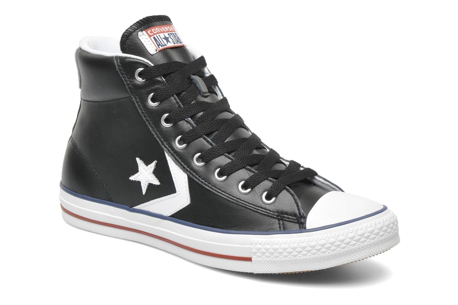Star Player Ev Leather Hi M noir blanc