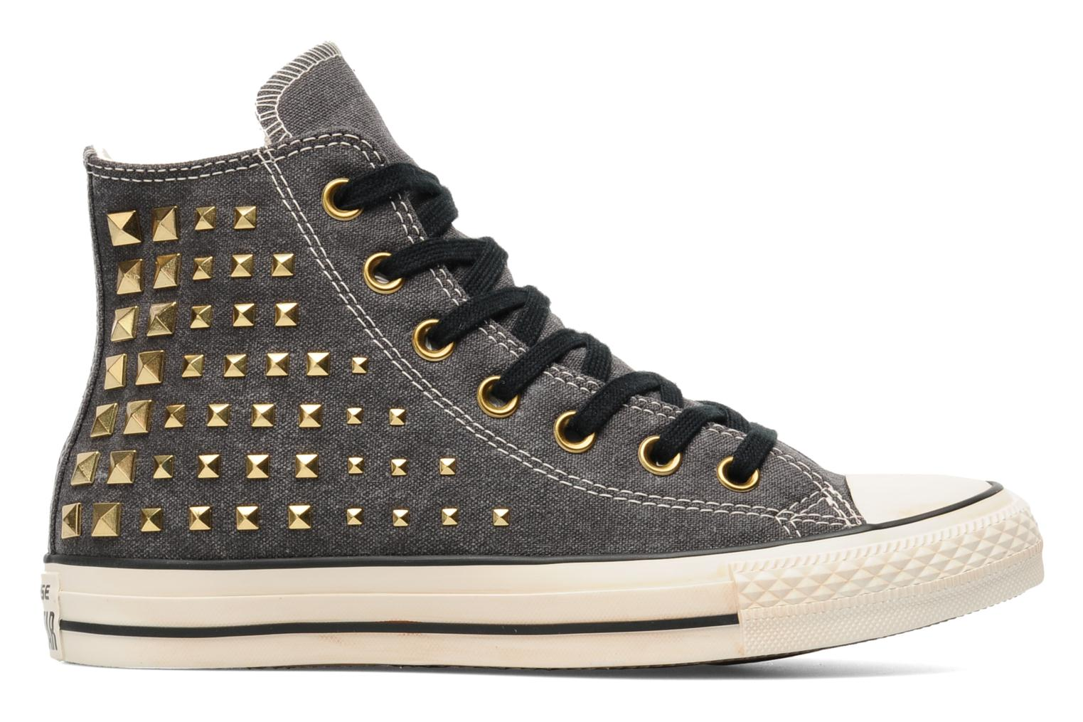 Baskets Converse Chuck Taylor All Star Collar Studs Canvas Hi W Noir vue derrière