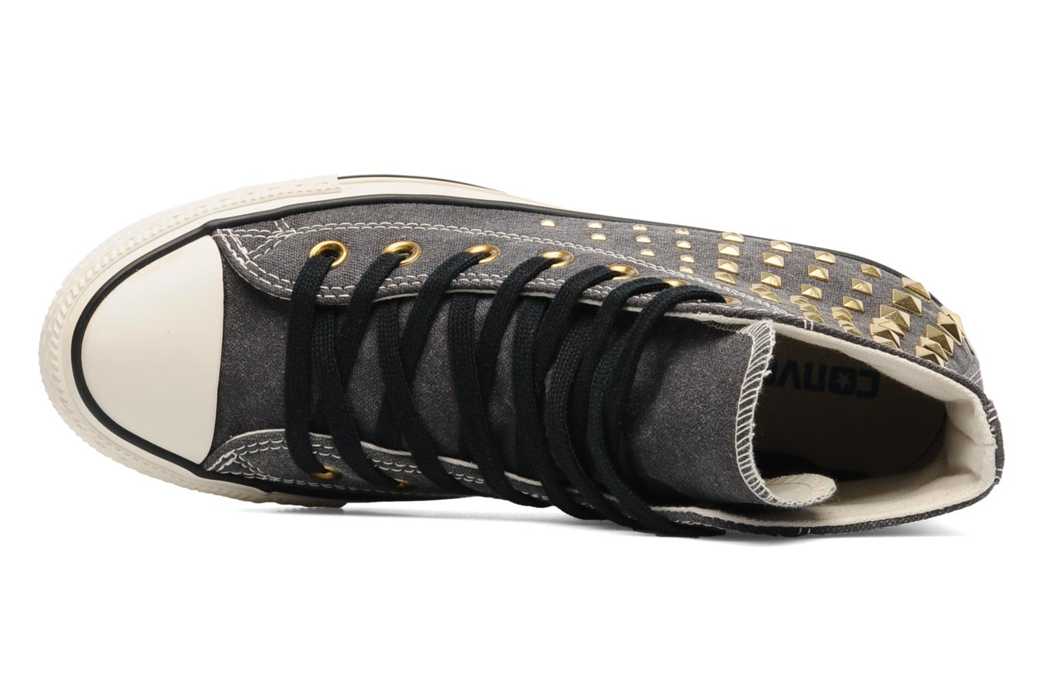 Baskets Converse Chuck Taylor All Star Collar Studs Canvas Hi W Noir vue gauche