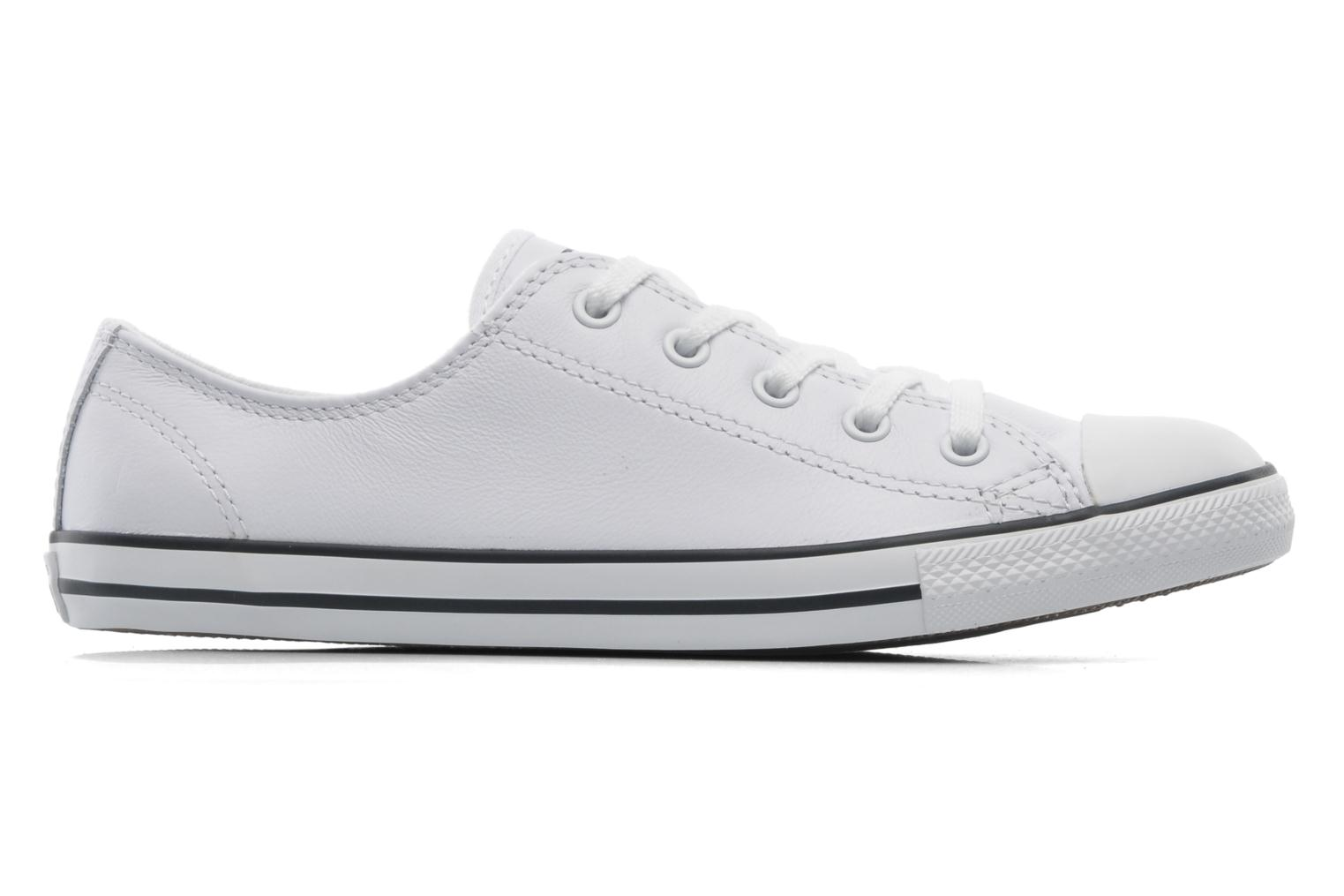Sneakers Converse All Star Dainty Cuir Ox W Wit achterkant