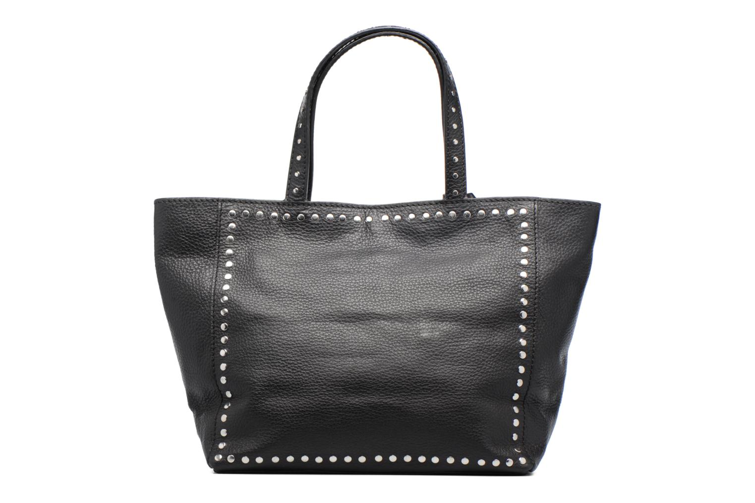 Handbags Loxwood CABAS PARISIEN M Clouté Cuir grainé Black front view