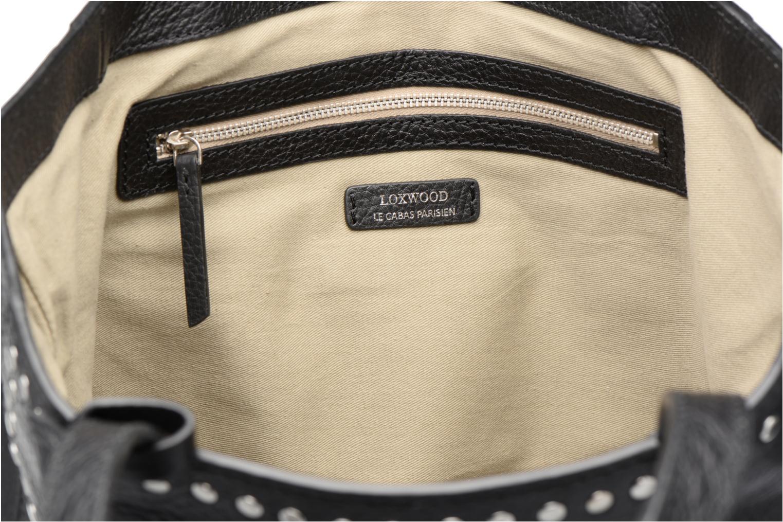 Handtaschen Loxwood CABAS PARISIEN M Clouté Cuir grainé schwarz ansicht von hinten
