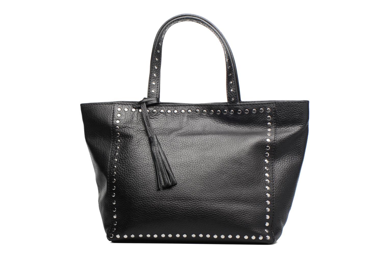 Håndtasker Loxwood CABAS PARISIEN M Clouté Cuir grainé Sort detaljeret billede af skoene