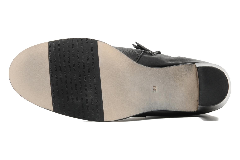 Boots en enkellaarsjes Royal Republiq Jolie Base bootie Zwart boven
