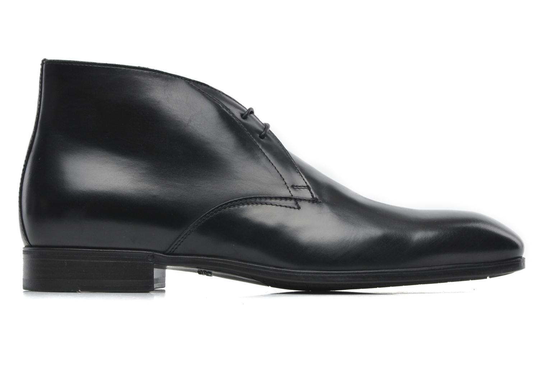 Chaussures à lacets Santoni Simon 11163 Noir vue derrière