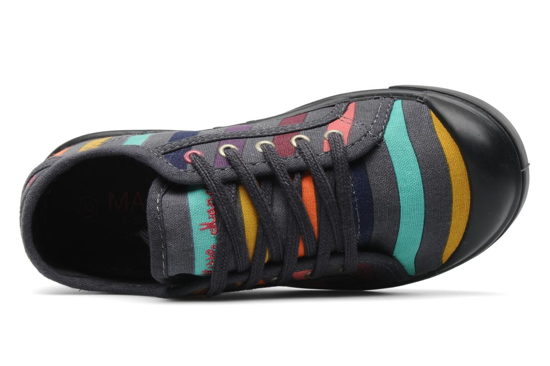 Baskets Little Marcel Benikids Multi J Multicolore vue gauche