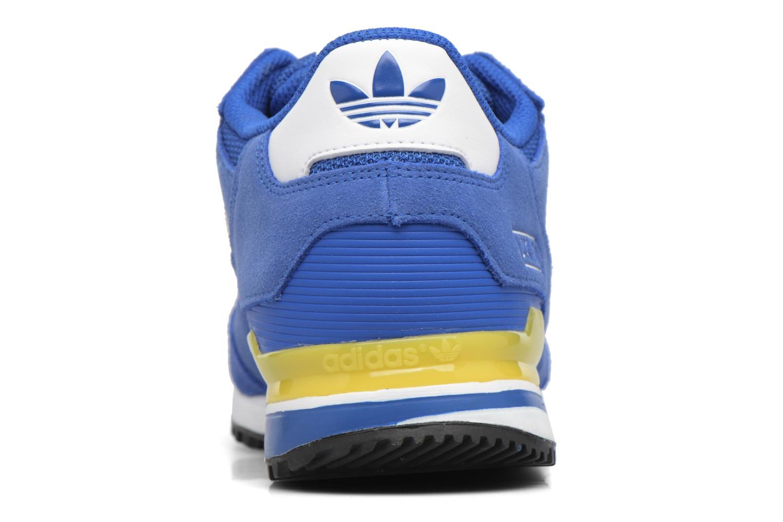 Baskets Adidas Originals Zx 750 Bleu vue droite