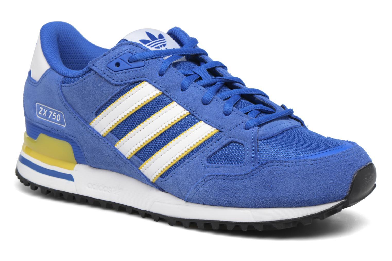 Sneaker Adidas Originals Zx 750 blau detaillierte ansicht/modell
