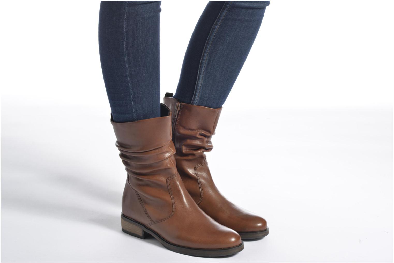 Bottines et boots Gabor Genua Noir vue bas / vue portée sac