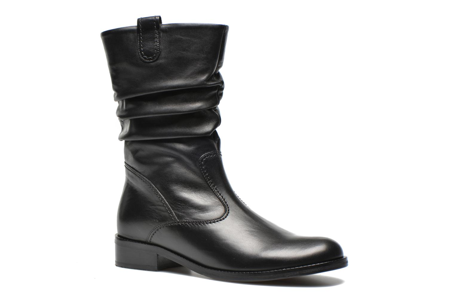 Ankle boots Gabor Genua Black detailed view/ Pair view