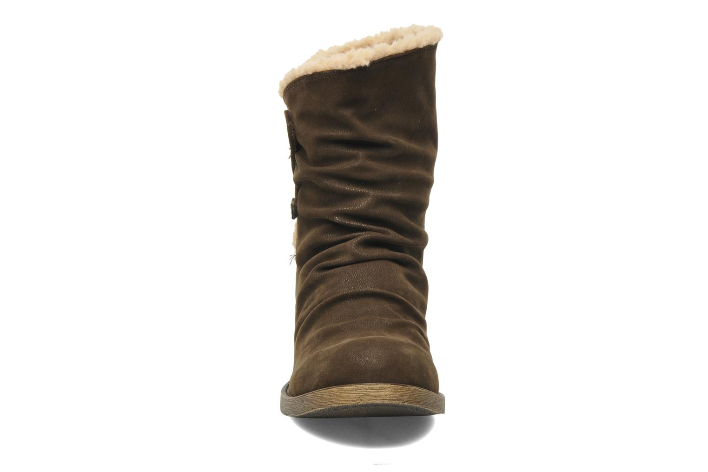 Bottines et boots Blowfish Kika Marron vue portées chaussures