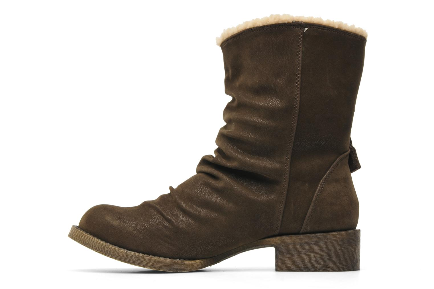 Ankle boots Blowfish Kika Brown front view