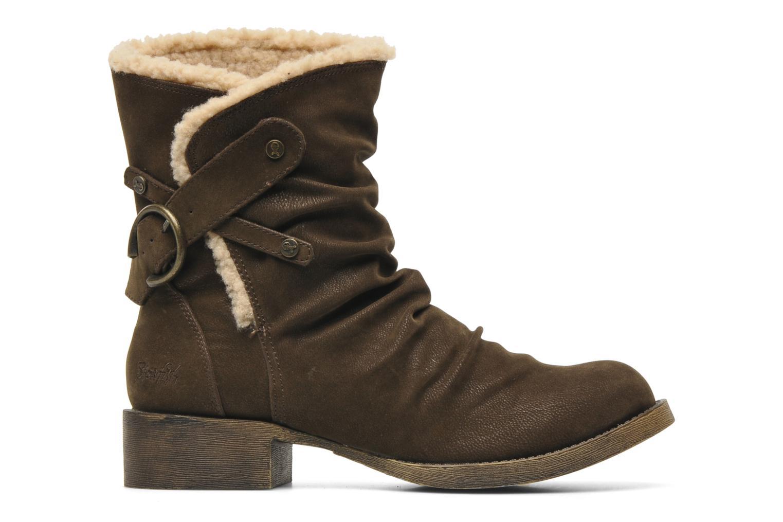 Ankle boots Blowfish Kika Brown back view