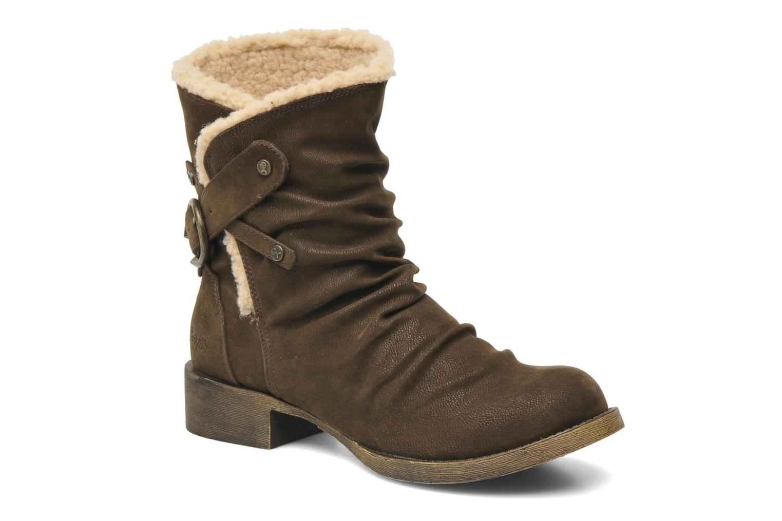Ankle boots Blowfish Kika Brown detailed view/ Pair view