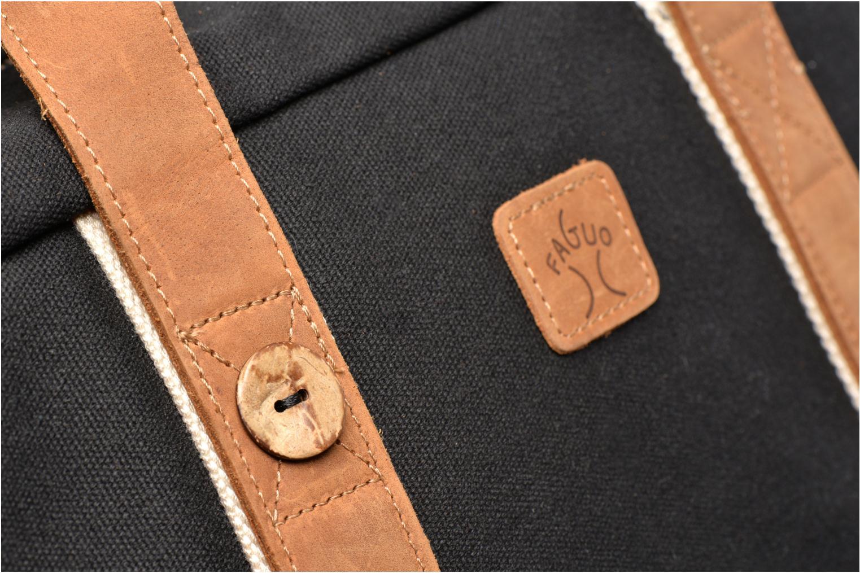 Bagages Faguo Bag 48 Noir vue gauche