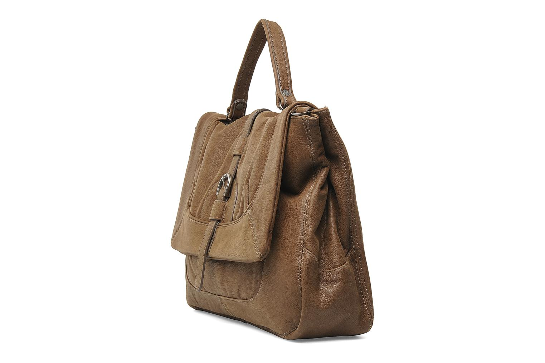 Handtassen Sabrina Gabrielle Bruin model