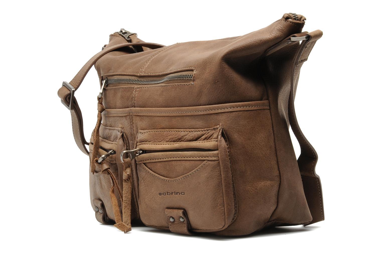 Handtaschen Sabrina Jeanne braun schuhe getragen
