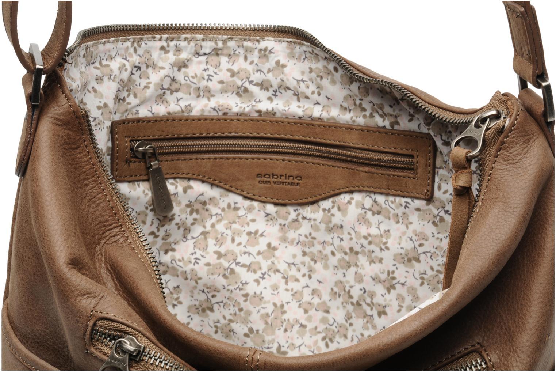 Handtaschen Sabrina Jeanne braun ansicht von hinten