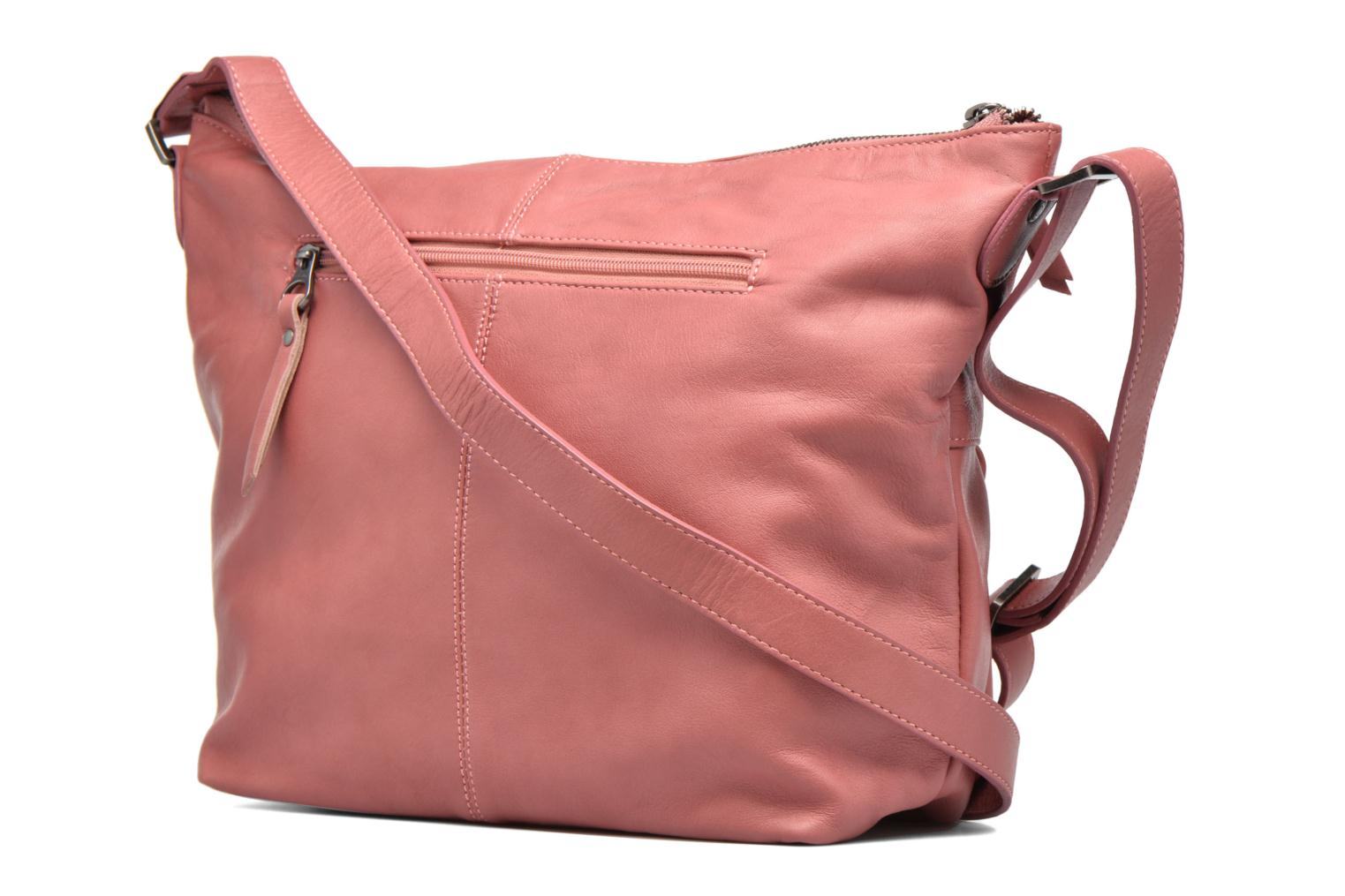 Handbags Sabrina Jeanne Pink view from the right