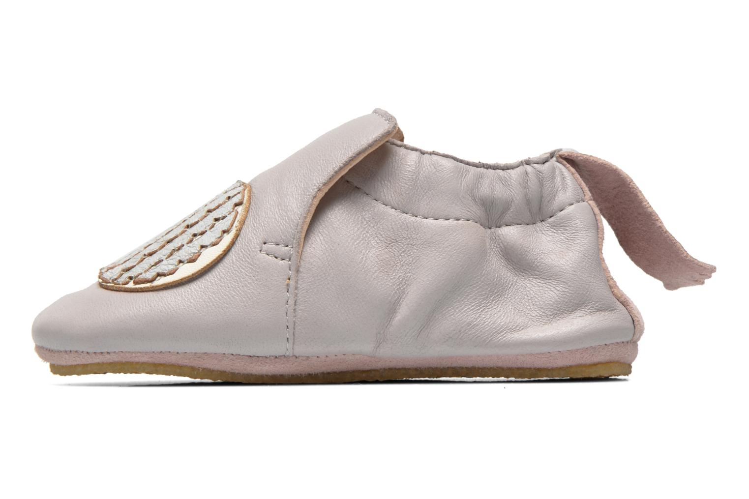 Chaussons Easy Peasy Blublu Patin Hérisson Gris vue face