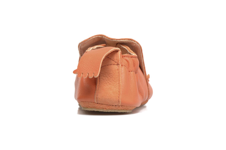 Slippers Easy Peasy Blublu Lion Orange back view